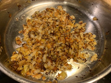 Onions after